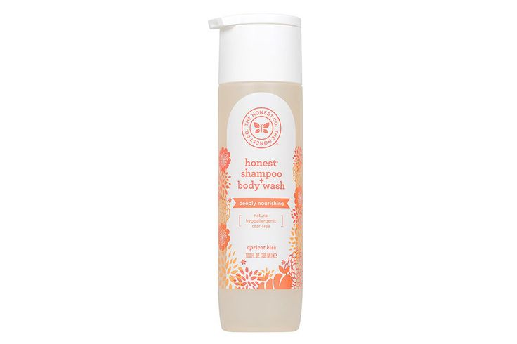 Honest Company Biodegradable Shampoo + Body Wash. They also have conditioner.