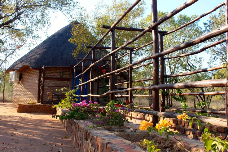 The Blue Bungalow available for our guests - Family bedroom - DIMA BUSH CAMP  SAFARI in SOUTH AFRICA