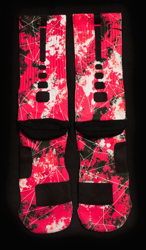 THEY ARE BEAUTIFUL ❤️ NIKE ELITE SOCKS CUSTOM the sock game