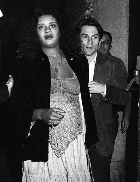 Robert de niro and diahnne abbott the parents of actress drena de niro