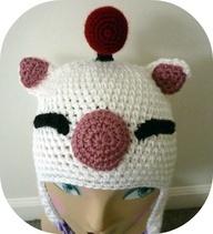 Final Fantasy Moogle Hat