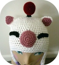 Final Fantasy Moogle Hat