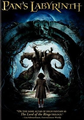 Pan's Labyrinth (2006) Living with her tyrannical stepfather (Sergi López) in a new home with her pregnant mother, 10-year-old Ofelia (Ivana Baquero) feels alone until she explores a decaying labyrinth guarded by the mysterious Pan (Doug Jones), an ancient satyr who claims to know her destiny. If she wishes to return to her real father, Ofelia must complete three terrifying tasks in director Guillermo del Toro's Oscar-winning fairy tale for grown-ups.