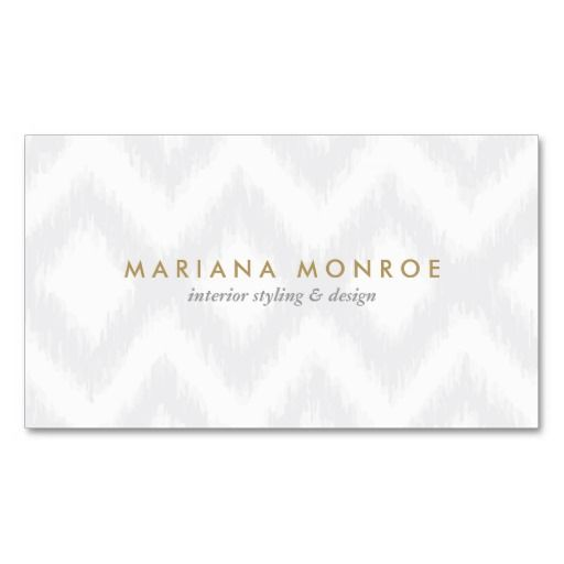 Customizable Business Card Template For Interior Designers, Decorators,  Style Bloggers And More. Easy
