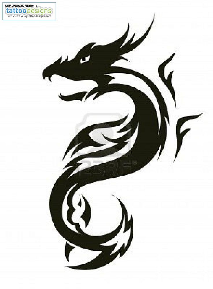 Tribal capricorn tattoo