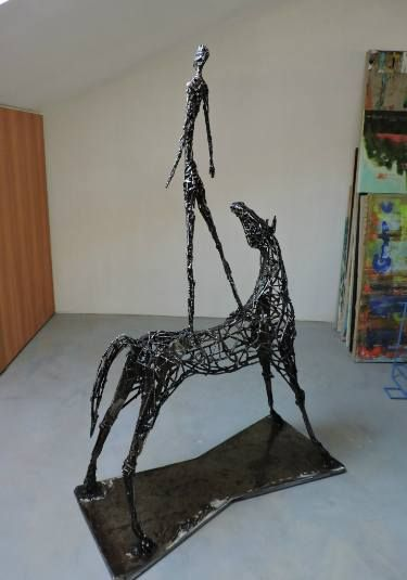 "Saatchi Art Artist Michele Rizzi; Sculpture, ""The next exploration (star man)"" #art"