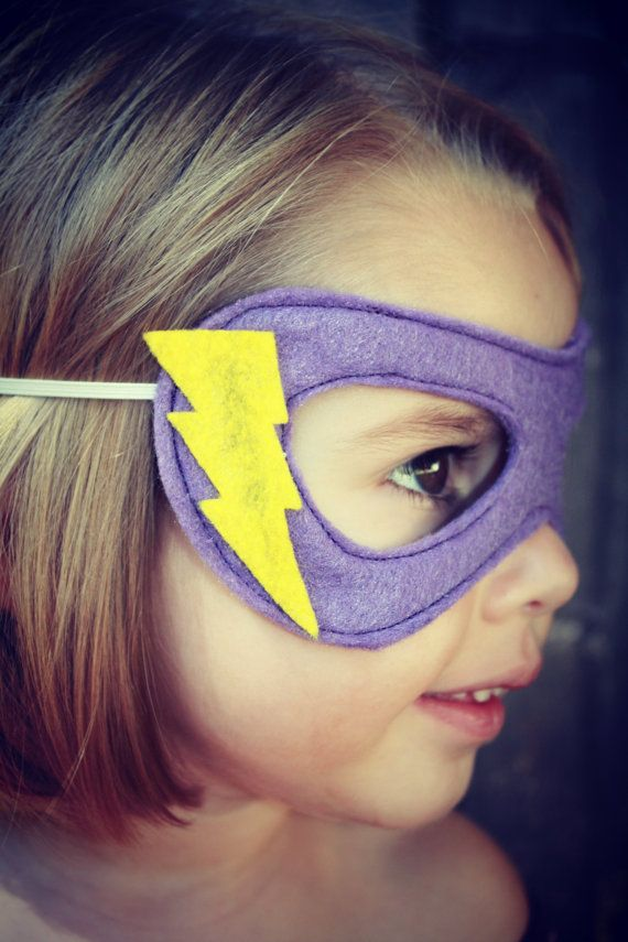 Super Kid Mask Design Your Own by TheLazyOwl on Etsy