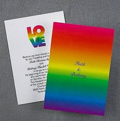 Elegant Loveu0027s Rainbow Wedding Invitation Keywords: #rainbowweddings  #jevelweddingplanning Follow Us: Www.jevelweddingplanning