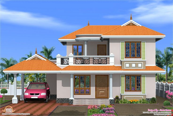 Home Design | Beautiful Indian Home Designs | Pinterest | House, Bungalow  And House Elevation