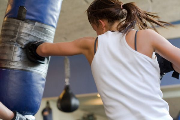 Boxing workouts for women & Jackie Werner's ab workout