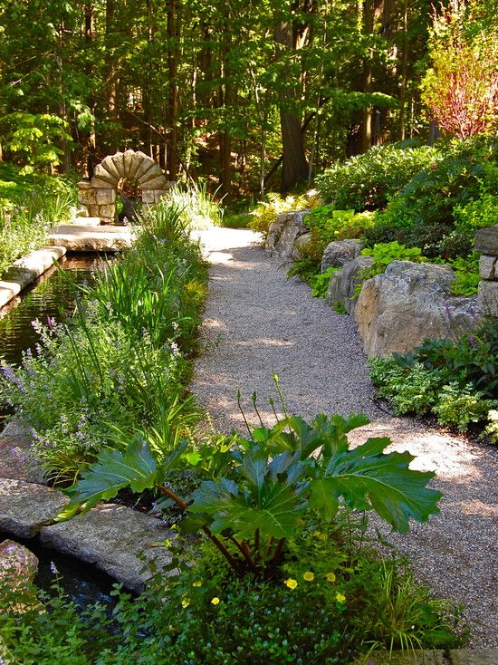 Traditional Landscape French Country Garden Design, Pictures, Remodel, Decor and Ideas - page 11