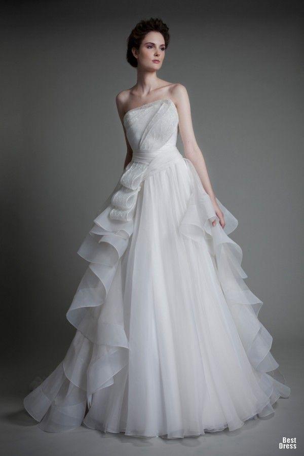 1003 besten Wedding dress Bilder auf Pinterest   Brautkleider ...