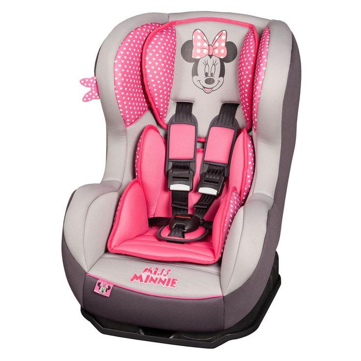 zebra and minnie mouse nursery | Nania Cosmo Sp Minnie Mouse 2014 Car Seat