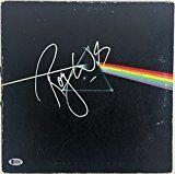 #8: Pink Floyd Roger Waters Signed Dark Side of the Moon Album Beckett BAS