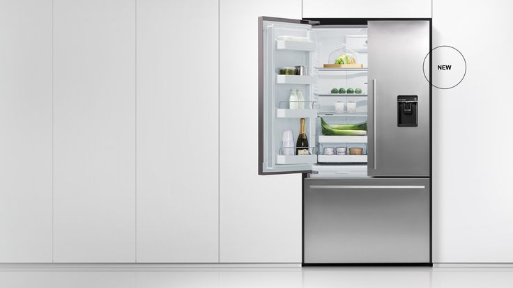 French Door - French Door Refrigerators have been designed to maximise space as well as access. French Door fridges bring theatre into the kitchen with unobstructed access to wide-open shelf spaces. Below, a spacious full-extension drawer and storage bins provide ergonomic solutions for freezer items.