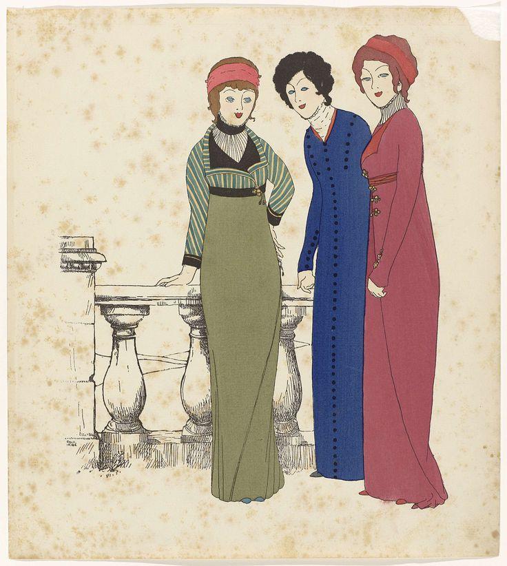 1908 - Les Robes de Paul Poiret racontée par Paul Iribe