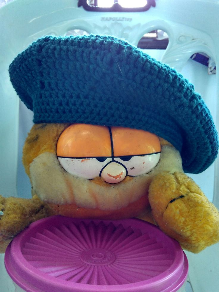 Simple Crochet Beret for toddler