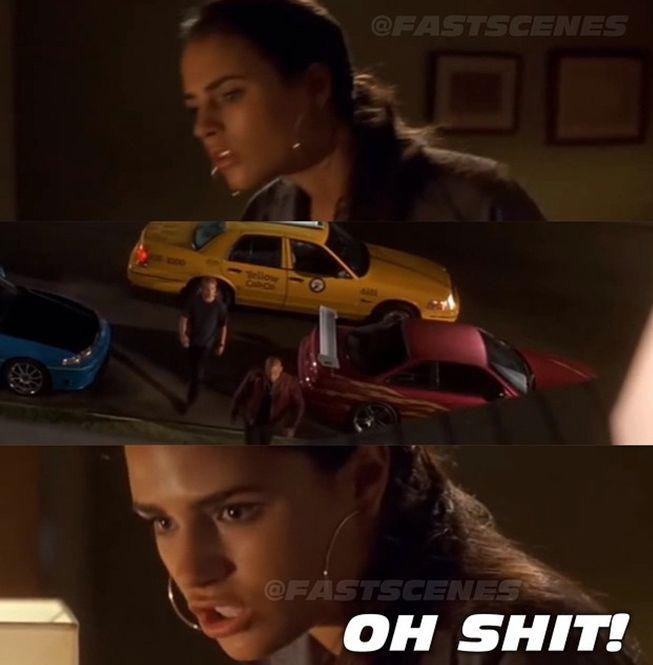 Dominic Toretto, Brian O'Conner, & Mia Toretto (Vin Diesel, Paul Walker, & Jordana Brewster)
