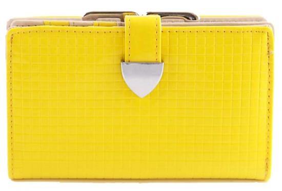 yellow fluo purse