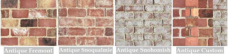 Antique Thin Brick, Rustic thin brick collection - brick tiles for brick flooring and brick walls products