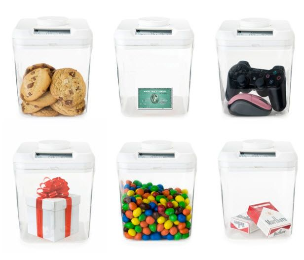 The Kitchen Safe (http://blog.hgtv.com/design/2013/10/04/daily-delight-the-kitchen-safe/?soc=pinterest): Kitchens, Cool Things, Design Ideas, Bag, Takeaways Endless Ideas, Locking Container, Kid, Kitchen Safes