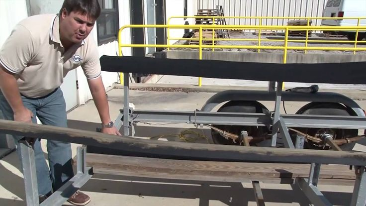 Boat Trailer Bunk Carpet Replacement - Part 1