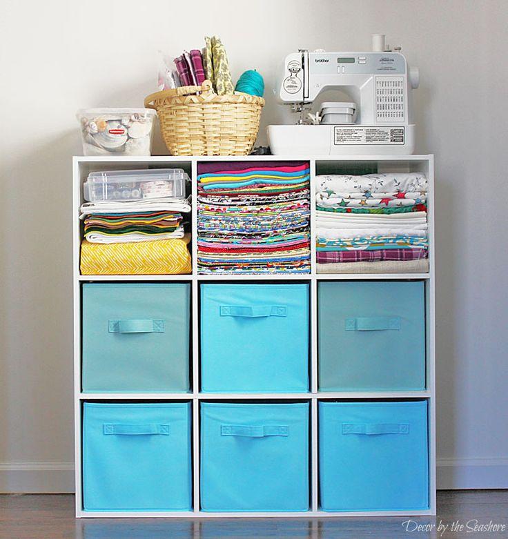 25 beste idee n over ambachtelijke opslag op pinterest hobbykamer opslag knutselkamers en - Organiseren ruimte voor een extra ...