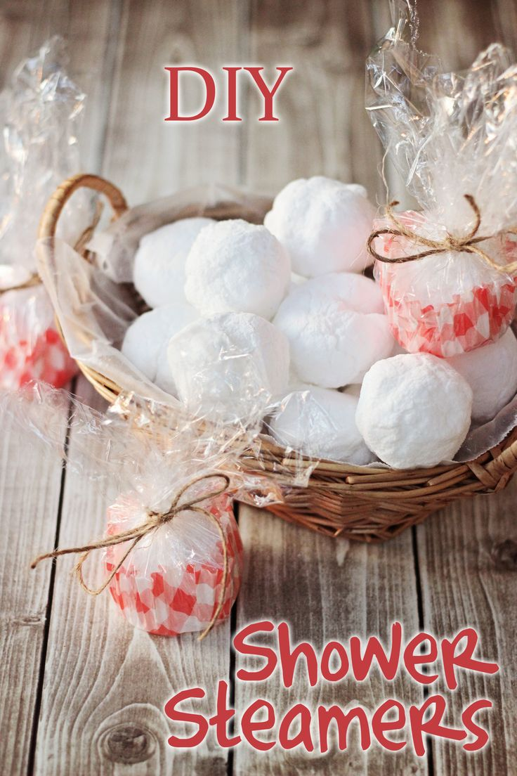 These easy DIY Shower Steamers for colds don't require a mold or special tools to create.