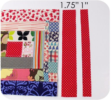 151 best Quilting-Quilt as You Go Tutorials images on Pinterest ... : log cabin quilt as you go - Adamdwight.com