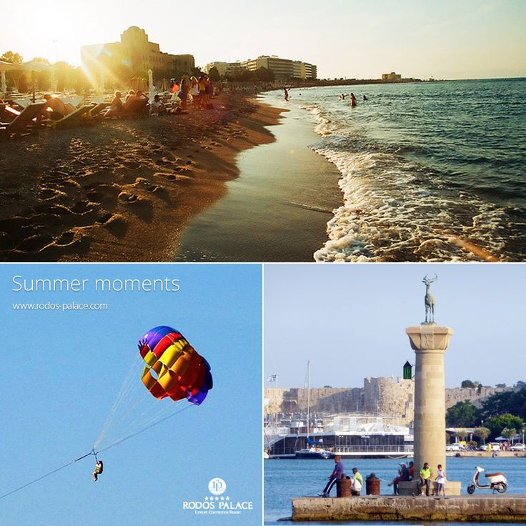 #Summermoments in #Rodos!!  Book now in #RodosPalaceHotel!!  www.rodos-palace.com