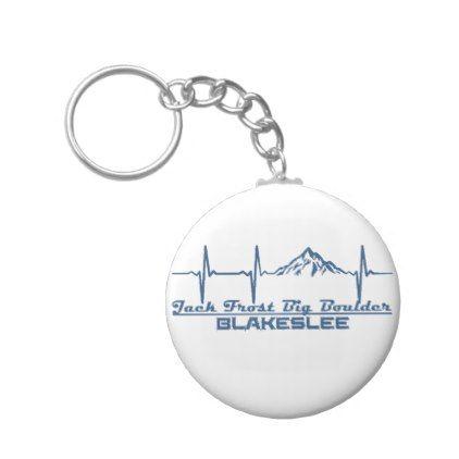Jack Frost Big Boulder  -  Blakeslee - Pennsylvani Keychain - accessories accessory gift idea stylish unique custom