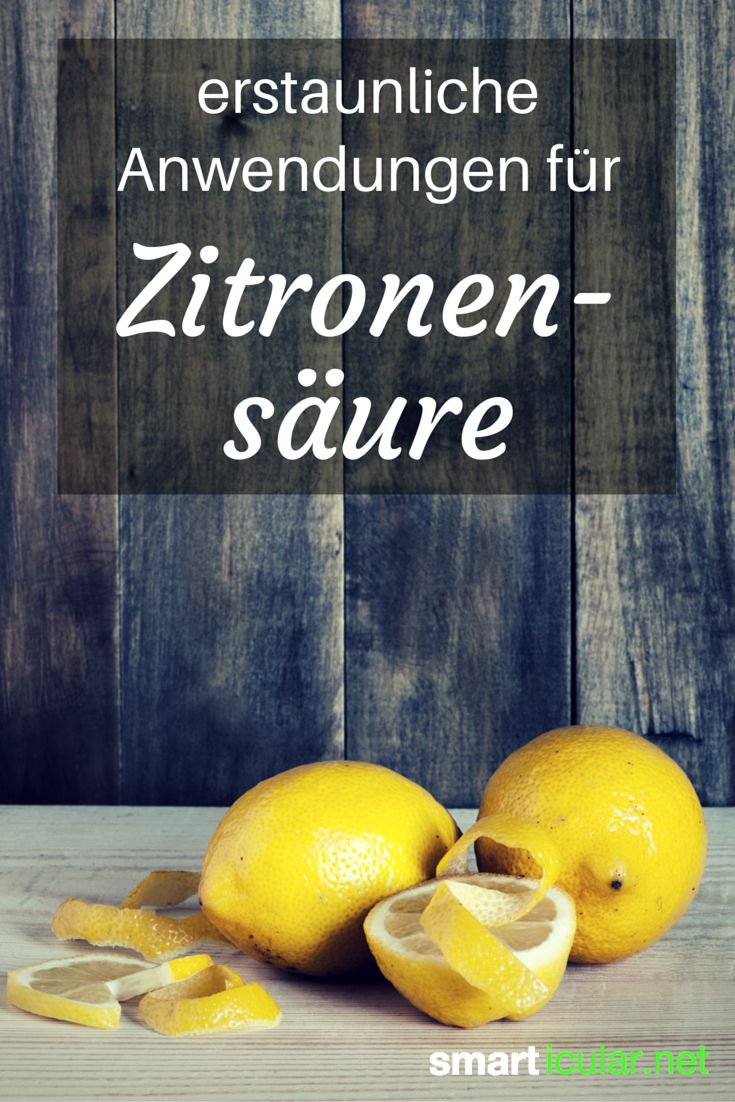 Zitronensäure ist vielseitig einsetzbar. Die besten Anwendungen für Küche, Haushalt und Körperpflege!