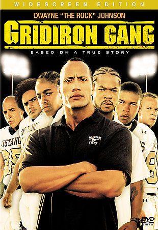 Gridiron Gang (DVD, 2007, Widescreen) Jade Yorker, The Rock, Xzibit / Brand New #Sony