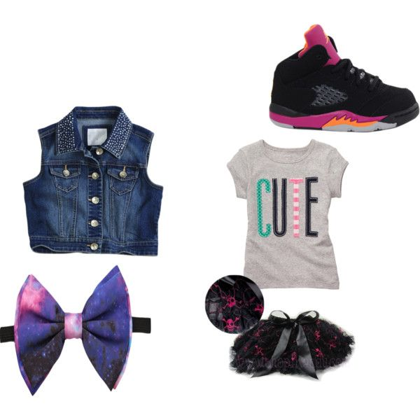 cute toddler outfit for girls by oneandonlylia on Polyvore