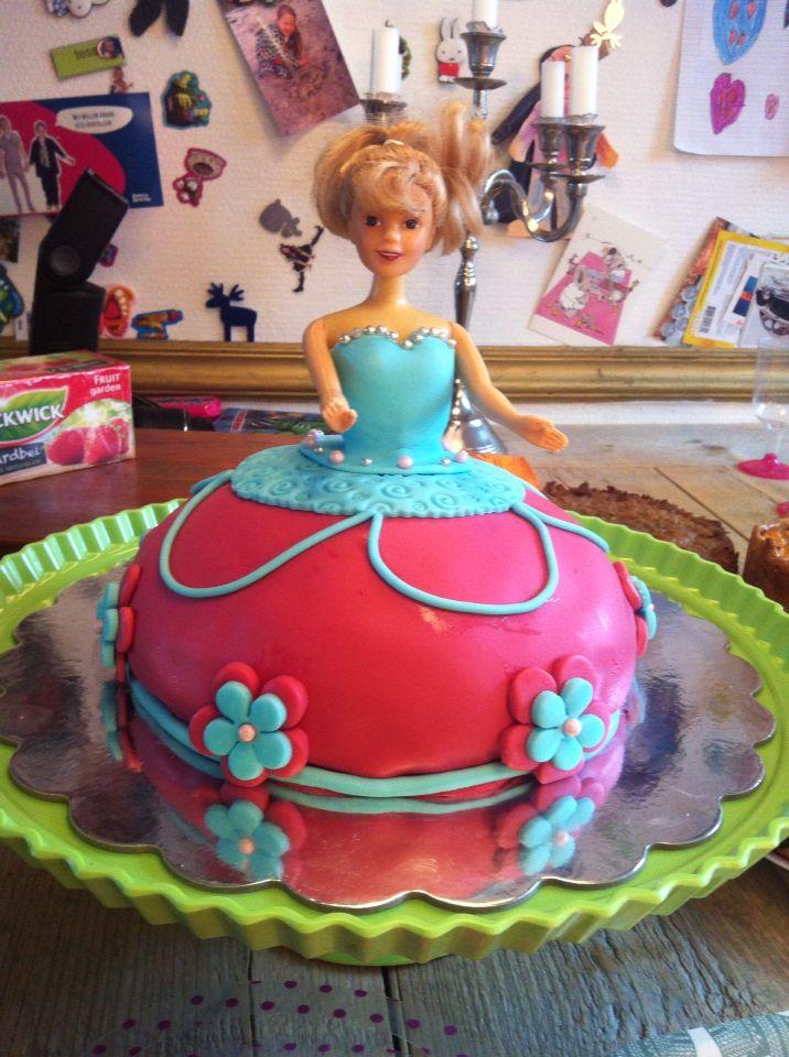 #prinsessentaart #taart #kinderen #verjaardag #prinses #meiden #jarig