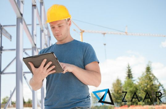 ZAAR APP manage your construction  projects easy and fast.