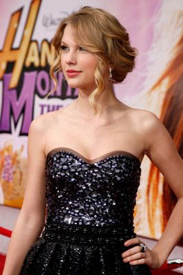 Taylor Swift at an event for Hannah Montana: The Movie