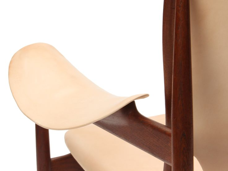 A Rare Teak Chieftain Armchair Designed By Finn Juhl Made