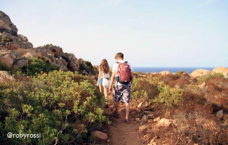 verso Cala Coticcio, Isola di Caprera - Gallura