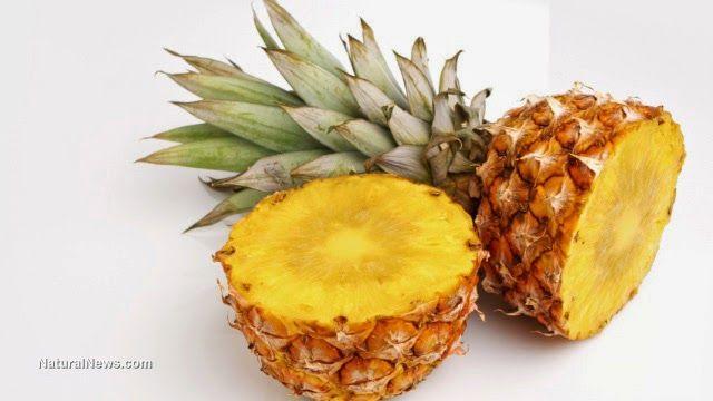 El zumo de piña es mas efectiva que los jarabes para la tos, mire como prepararlo ~ ConSalud.info