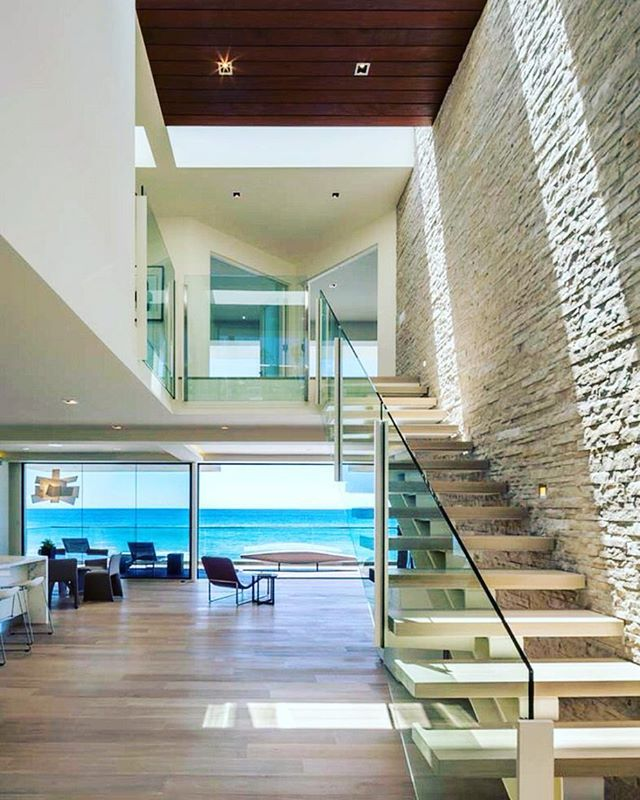 Hot contemporary beach house designed by Mark