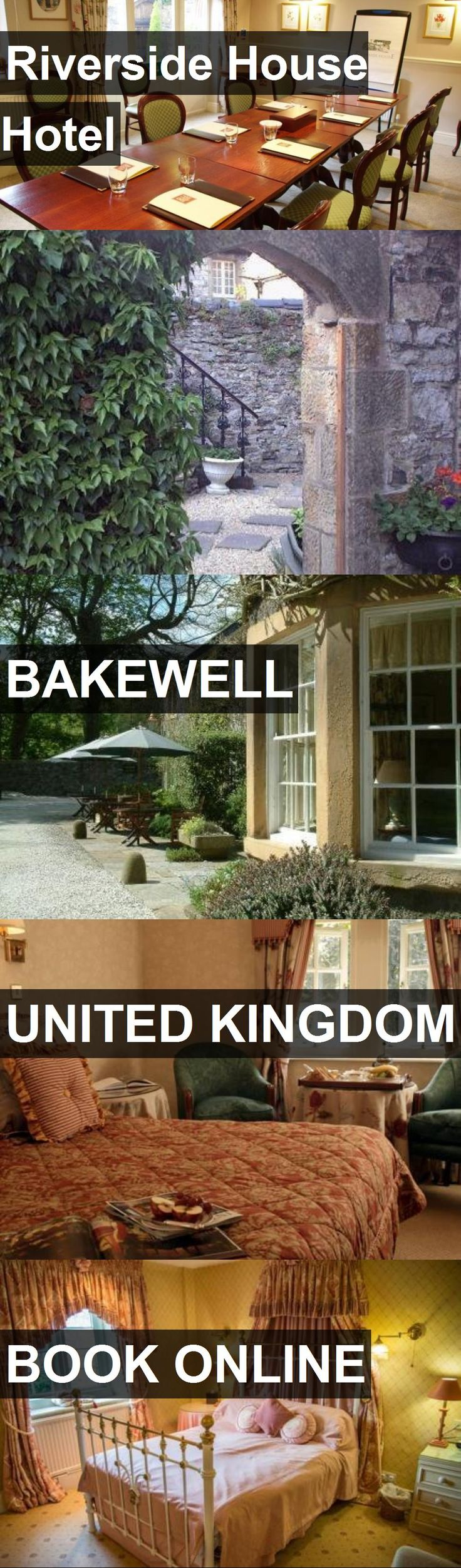 Hotel Riverside House Hotel in Bakewell, United Kingdom. For more information, photos, reviews and best prices please follow the link. #UnitedKingdom #Bakewell #RiversideHouseHotel #hotel #travel #vacation