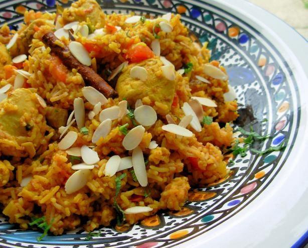 Kashmiri Chicken, Cardamom and Saffron Pilau: Spiced Indian Rice ...