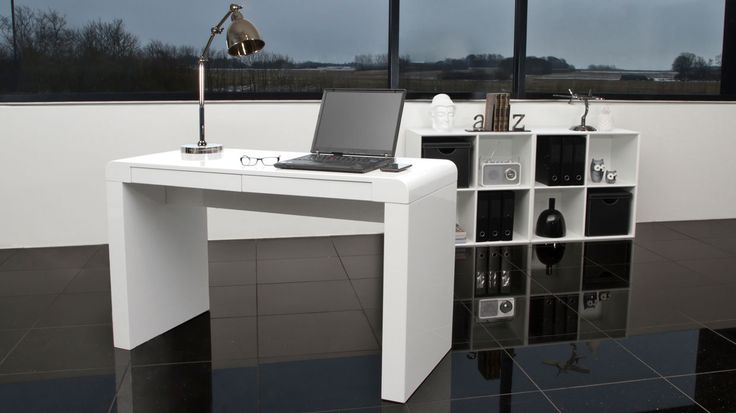 Fern White Gloss Desk £229.00