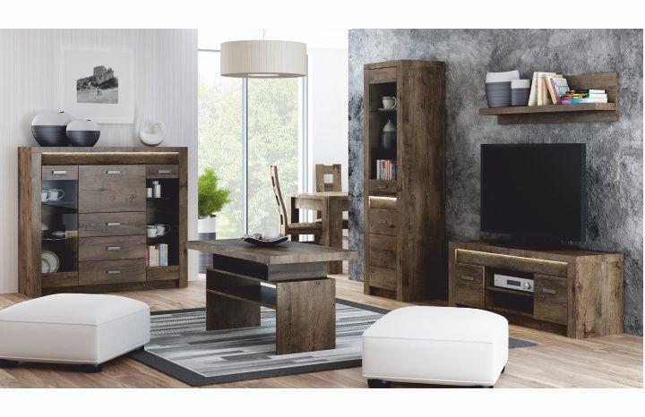 Sektorový nábytok Infinity jaseň tmavý | Tempo Kondela