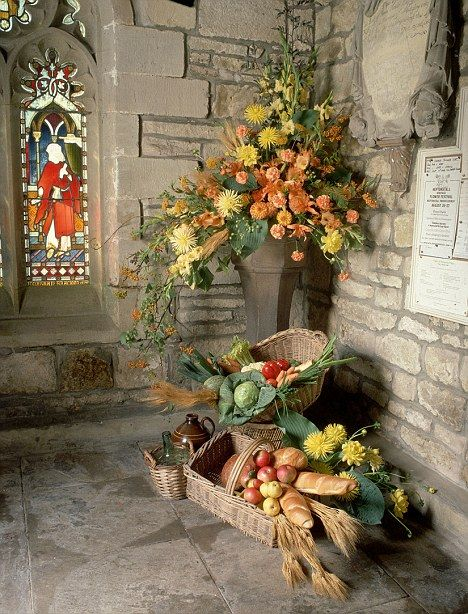 church harvest festival why - Google Search
