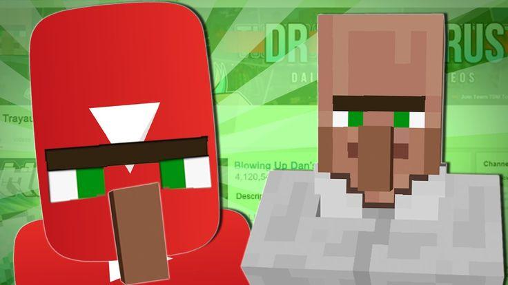 TRAYAURUS TAKES OVER YOUTUBE | Minecraft