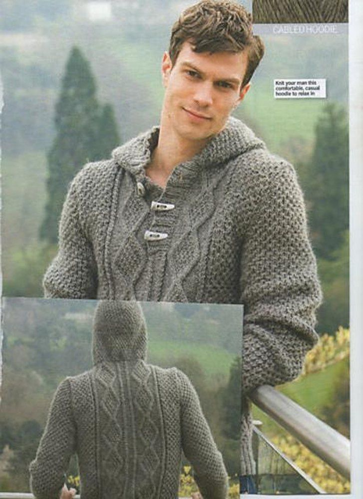 For the largest size; Errata: row 2 ... *, p2, k2 p0 (4, 8) k2, p2, rep from * ...Original was knitted in Sirdar Eco Wook DK (now discontinued). A substitute yarn is shown below.