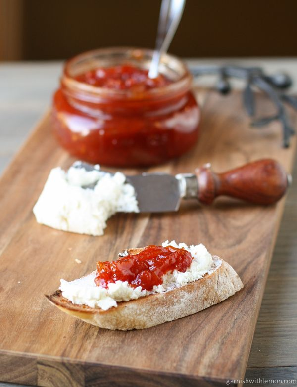 Sweet and Tangy Tomato Jam - use it as a condiment, an appetizer or simply eat it with a spoon!