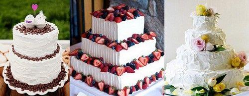 Какой красивый свадебный торт выбрать. Красивые свадебные торты с мастикой, ажуром фото идеи, многоярусный торт на свадьбу, свадебные торты с цветами 2017-2018.